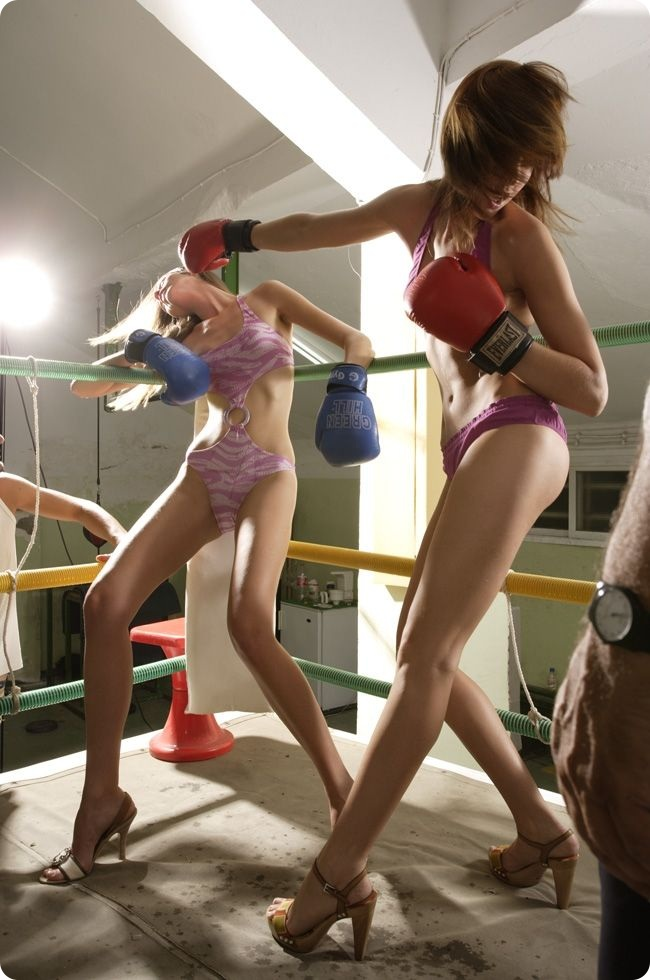 Smart sexy fighting girls girl party