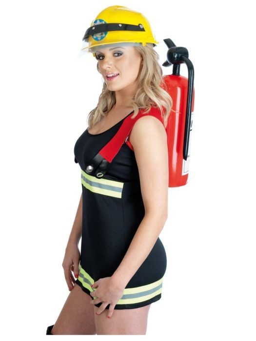 Sexy naked girls in firefighter uniforms — pic 15